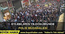 Taksim'deki Gezi Parkı eylemine polis müdahalesi