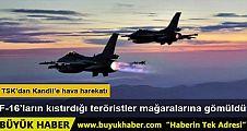 Kandil'e hava harekatı: 18 PKK'lı etkisiz hale getirildi