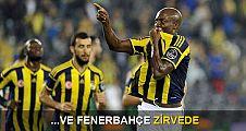 Ve Fenerbahçe zirvede