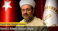 Mehmet Görmez: 'O aracı iade edeceğim'