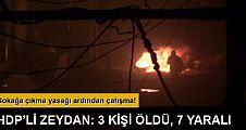 HDP'li Zeydan: 3 kişi hayatını kaybetti, 7 kişi yaralandı
