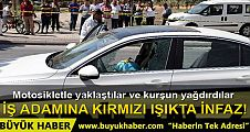 Mersin'de iş adamına kırmızı ışıkta infaz