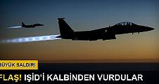 Koalisyon güçleri Rakka'da IŞİD'e saldırdı