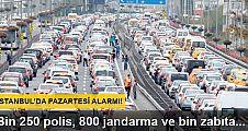 Kadir Topbaş, İstanbul'da pazartesi alarmı verdi