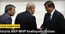 Bekaroğlu'ndan AKP-MHP koalisyonu iddiası
