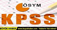 KPSS sınav tarihi değişti