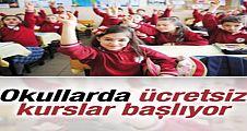 MEB'den okullara ücretsiz kurs kararı