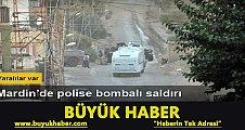 Derik'te PKK saldırısında 2 polis yaralandı