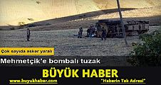 Muş'ta saldırı: 6 asker yaralı