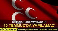 Çankaya Seçim Kurulu'ndan MHP kararı: 10 Temmuz'da seçimli kurultay yapılamaz