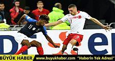 Türkiye, EURO 2020 Elemeleri'nde Fransa ile 1-1 berabere kaldı