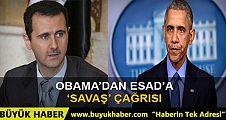 Obama'dan Esad'a çağrı