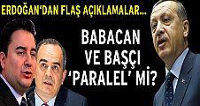 Erdoğan'dan Babacan ve Başçı'ya uyarı gibi sözler