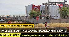 Derik'teki karakola saldırıda 2,5 ton patlayıcı kullanılmış