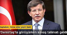 Davutoğlu: Operasyon yokken, KCK ateşkesi sona erdirdi