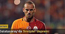 Büyük şok! Sneijder gidiyor