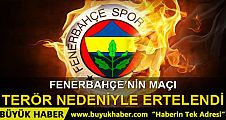 Royal Halı Gaziantep - Fenerbahçe maçı ertelendi
