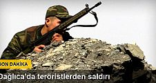 TSK: Teröristler Dağlıca'da 3 adet havan atışı yaptı