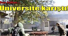 Üniversitede IŞİD gerilimi
