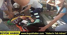 İstanbul'da yolcu minibüsü devrildi, yaralılar var