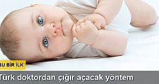 Türk doktordan tüp bebek tedavisinde çığır açan yöntem