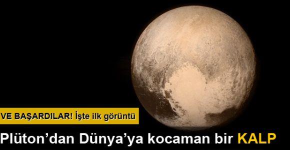 Uzay'da tarihi randevu: New Horizons, Plüton'a yakından baktı