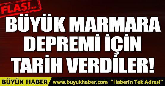 Uzmanlar Marmara depremi için tarih verdi