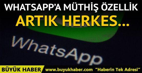 WhatsApp'a bir dizi bomba özellik geliyor