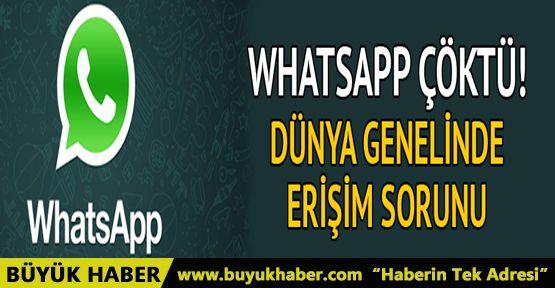 WhatsApp'a erişim sorunu
