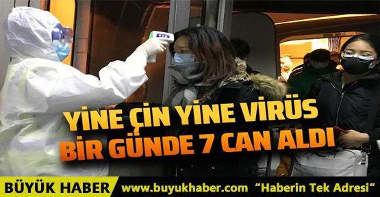 Yine Çin'de başka bir virüs tehlikesi! Bir günde 7 can aldı