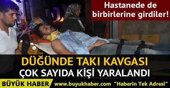 Zonguldak'ta düğünde takı paylaşımı kavgası: 17 yaralı