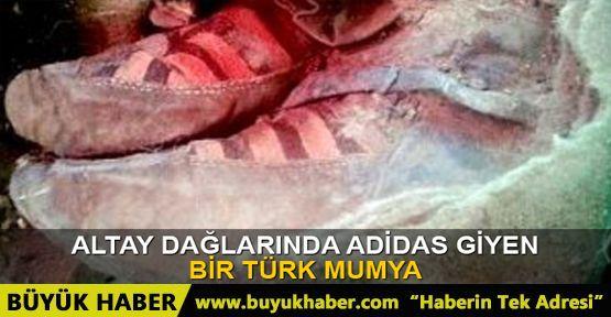 1.500 yıllık Adidas ayakkabılı Moğol Türkü mumyası yeni bilgilere ışık tutuyor