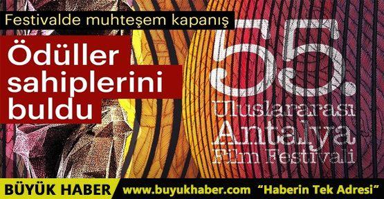 55. Uluslararası Antalya Film Festivali ödül töreni gerçekleşti