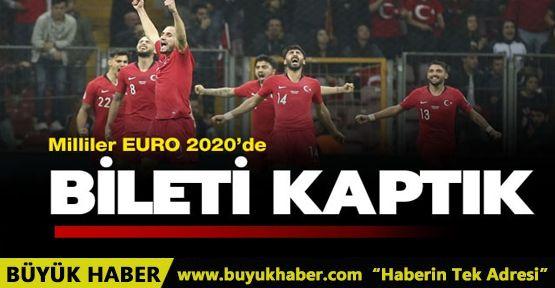 A Milli Futbol Takımımız, İzlanda ile golsüz berabere kaldı ve EURO 2020'ye katılmaya hak kazandı