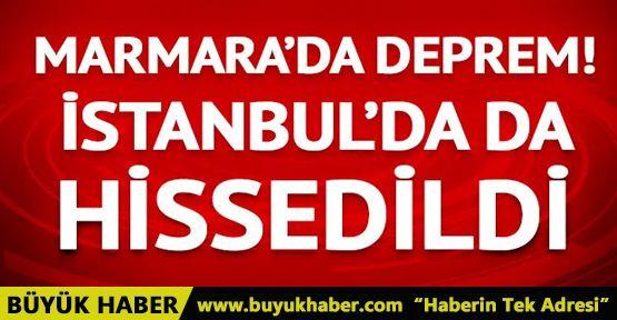 AFAD duyurdu! Yalova'da deprem: İstanbul'da da hissedildi