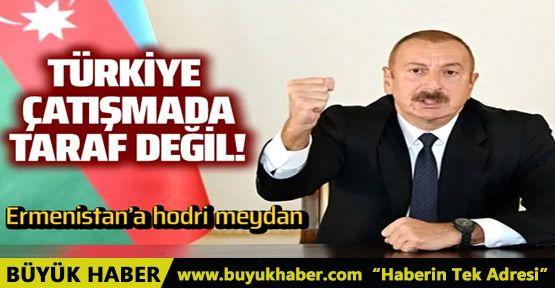 Aliyev: Türkiye çatışmalarda taraf değil