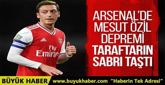 Arsenal taraftarından Mesut Özil için imza kampanyası