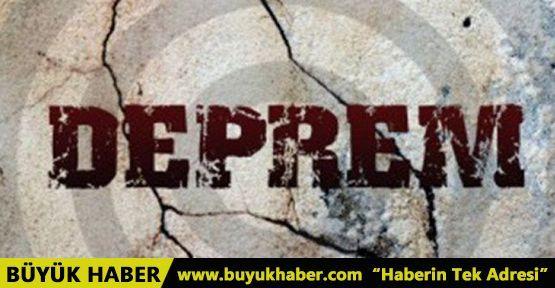 Aydın'da deprem meydana geldi