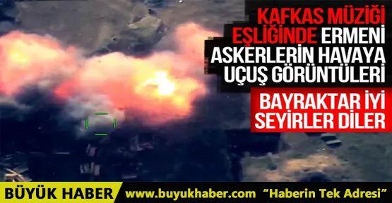 Azerbaycan ordusuna ait Türk yapımı SİHA'lar Ermenistan'ı perişan etti