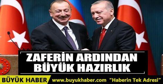 Azerbaycan'da büyük hazırlık!