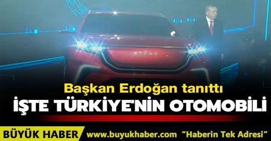 Başkan Erdoğan tanıttı! İşte Türkiye'nin otomobili