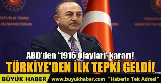 BİDEN'A TÜRKİYE'DEN İLK TEPKİ GELDİ!