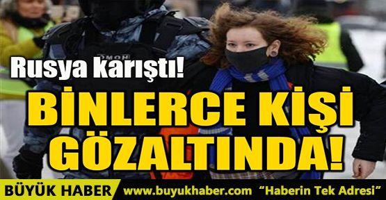 BİNLERCE KİŞİ GÖZALTINDA!