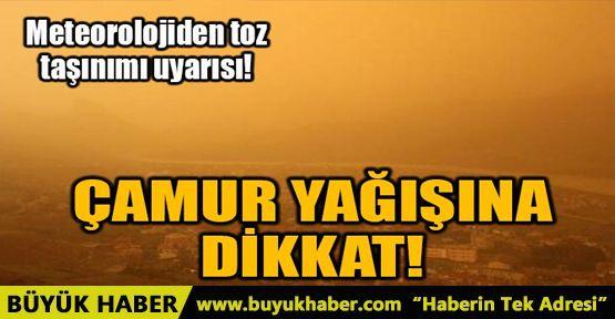 ÇAMUR YAĞIŞINA DİKKAT!