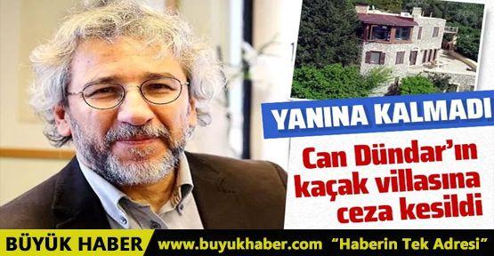 Can Dündar'ın kaçak villasına 148 bin 144 lira ceza kesildi