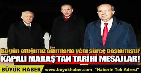 Cumhurbaşkanı Erdoğan'dan tarihi Maraş mesajı!