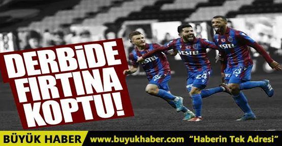 Derbide zafer Trabzonspor'un!