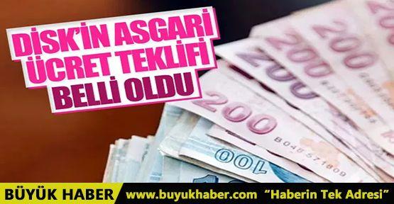 DİSK'in asgari ücret teklifi