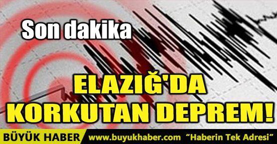 ELAZIĞ'DA KORKUTAN DEPREM