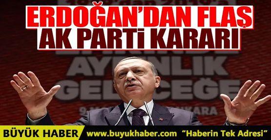 Erdoğan'dan AK Parti için önemli karar! Değişim için düğmeye bastı